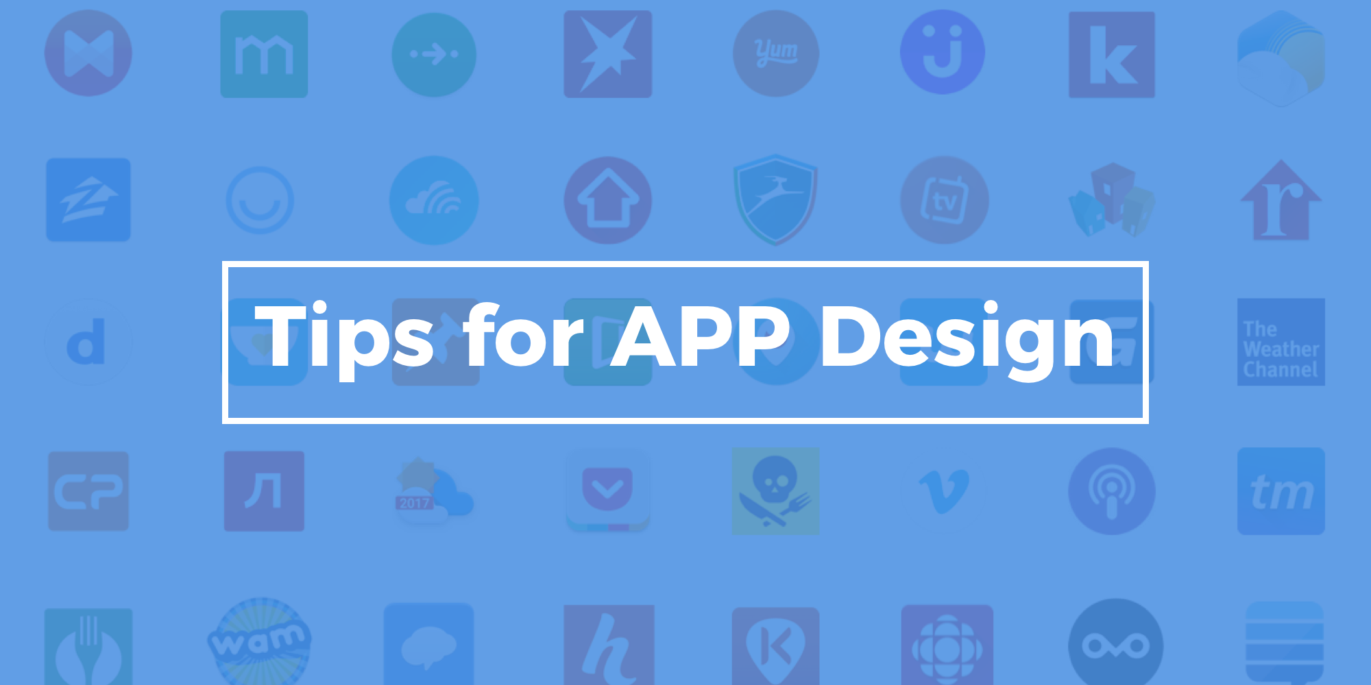 Mobile App Design Tips - How To Create An App