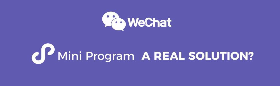 WeChat App VS WeChat Mini Program