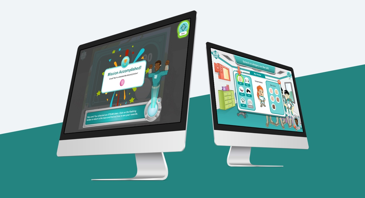 Interactive game based e-learning