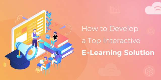 Develop e-learning