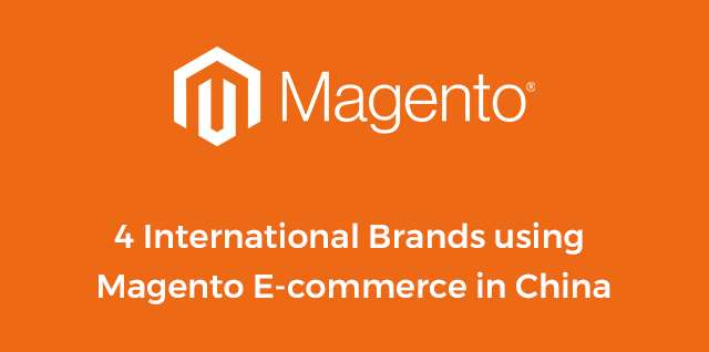 Magento China ecommerce