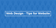 Web Design - Tips for Website
