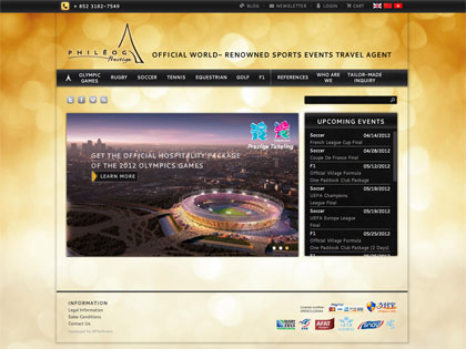 Well-established French sports event travel agency