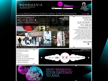 Novomania brings together the best of East and West at its famous biannual fashion trade show in Shanghai.